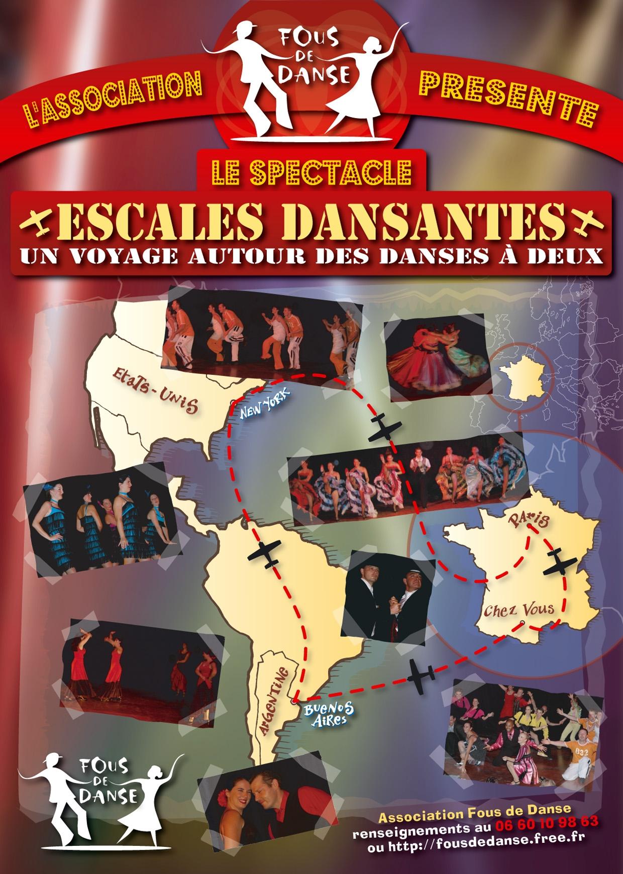 Affiche Escales dansantes