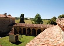 Notre Dame de Lorette - Le patio vu d'en haut