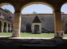 Notre Dame de Lorette - Le patio